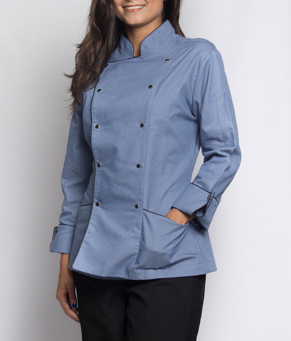 Dolmã Azulle Feminina 3 – Chef Estrela a86163efbfa